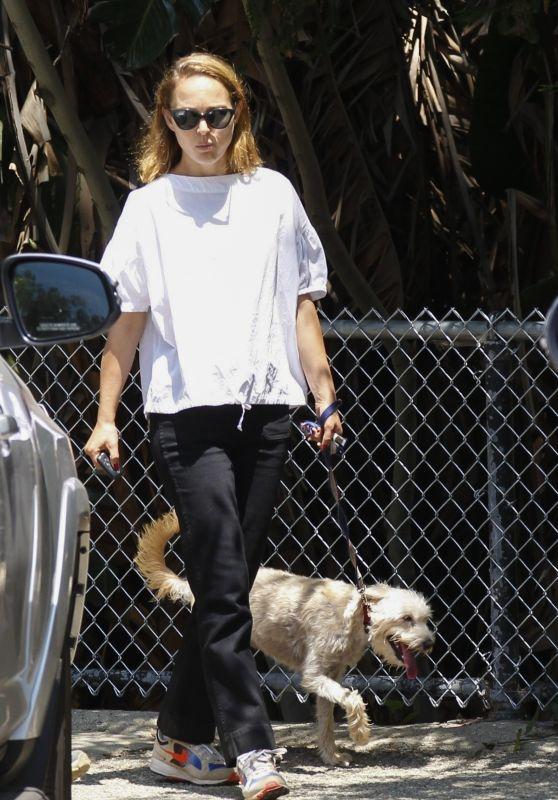 Natalie Portman - Griffith Park in Los Angeles 06/07/2019