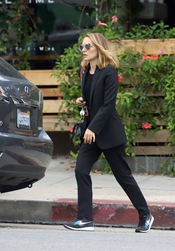 Natalie Portman - Out For Lunch in LA 06/23/2019