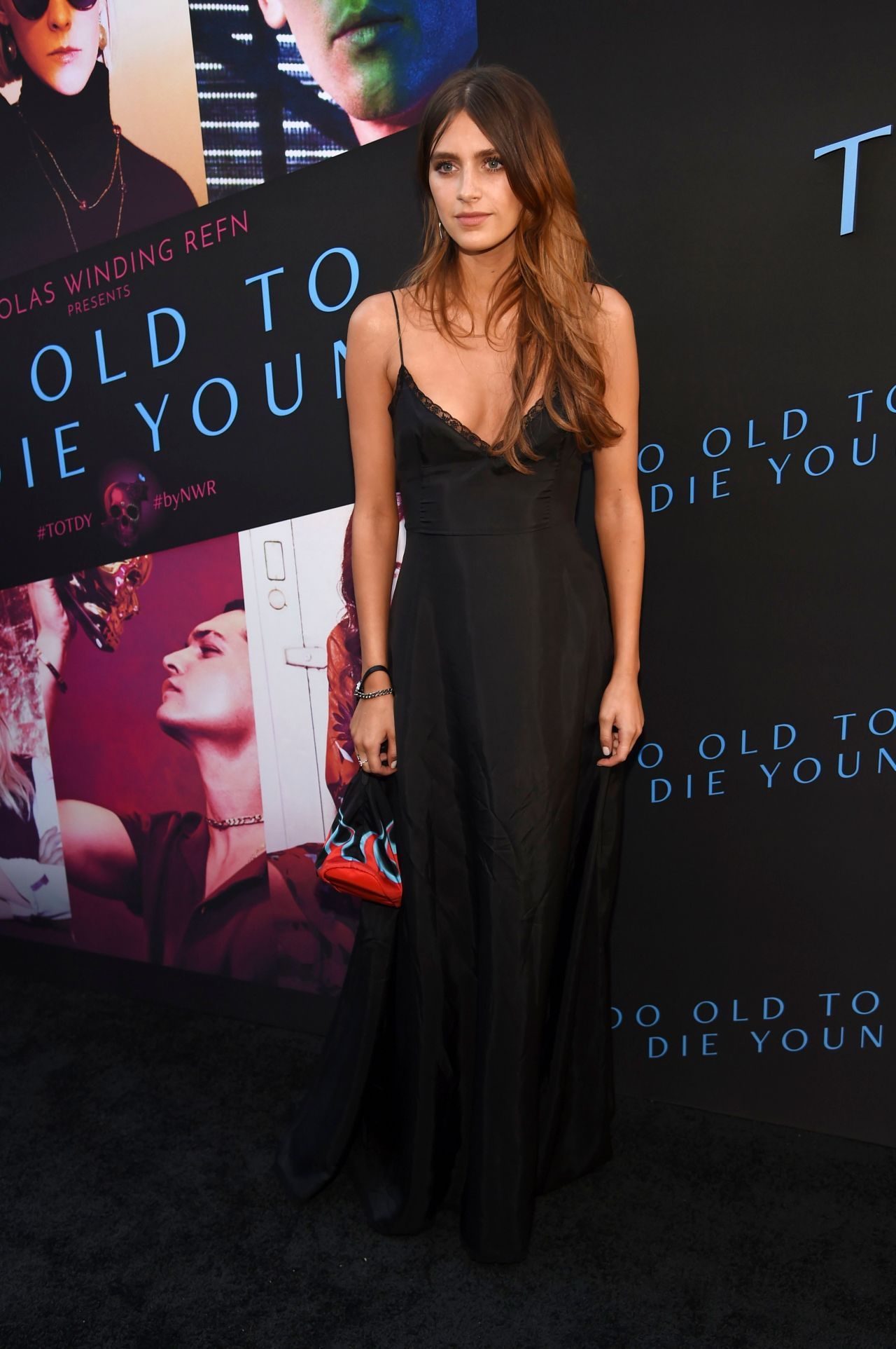 Nell Tiger Free  Too Old To Die Young Screening In La-2821