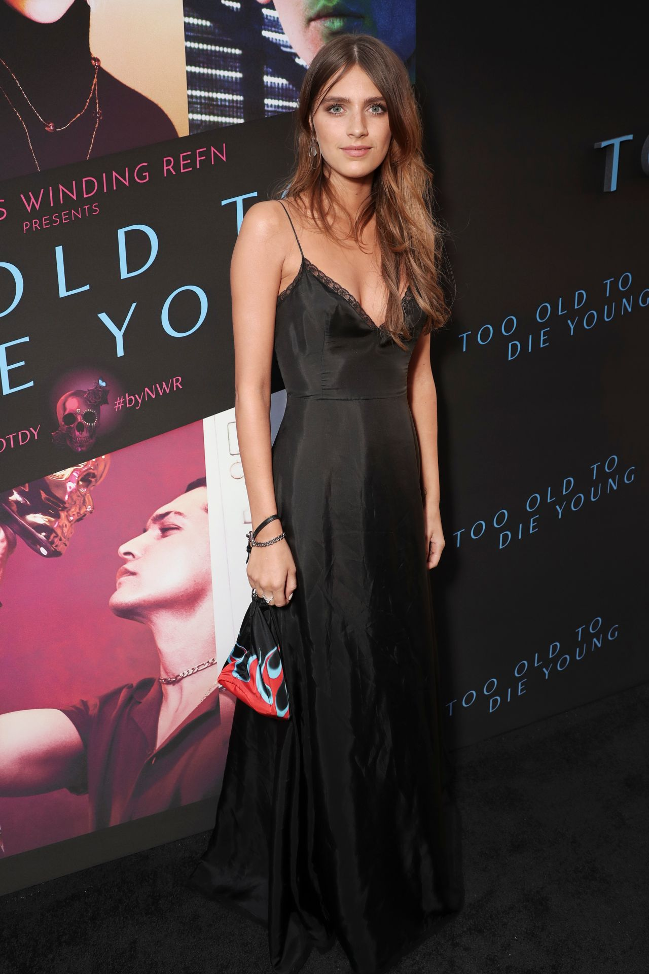 Nell Tiger Free  Too Old To Die Young Screening In La-9068