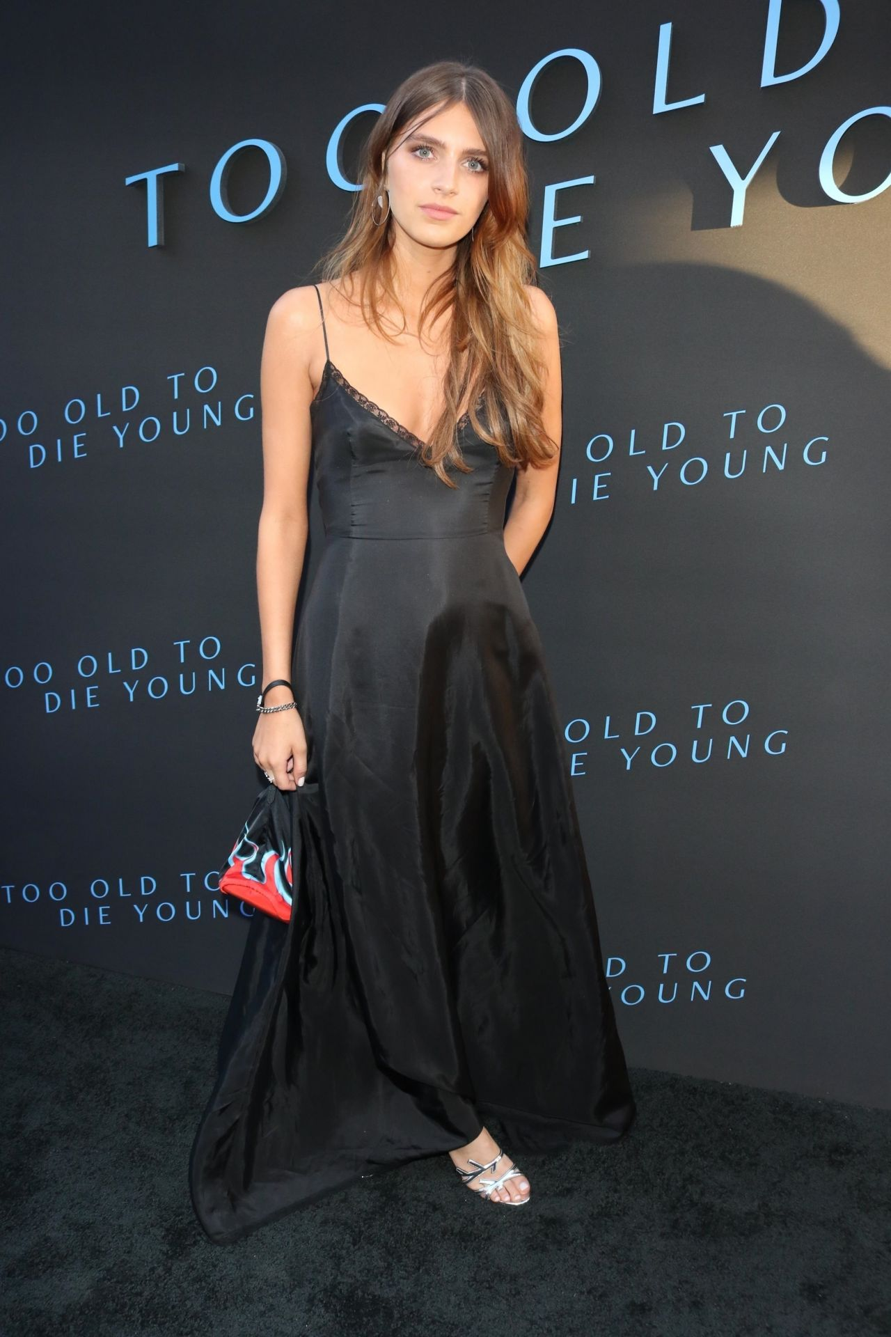 Nell Tiger Free  Too Old To Die Young Screening In La-3148