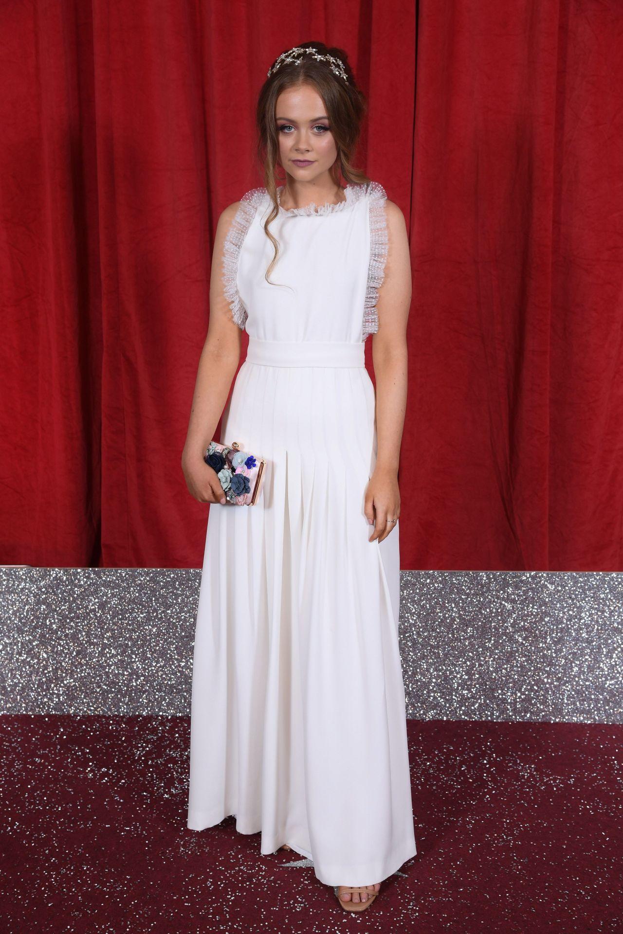 Niamh Blackshaw  British Soap Awards 2019-6629