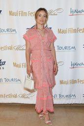 Olivia Wilde - 2019 Maui Film Festival in Hawaii 06/16/2019