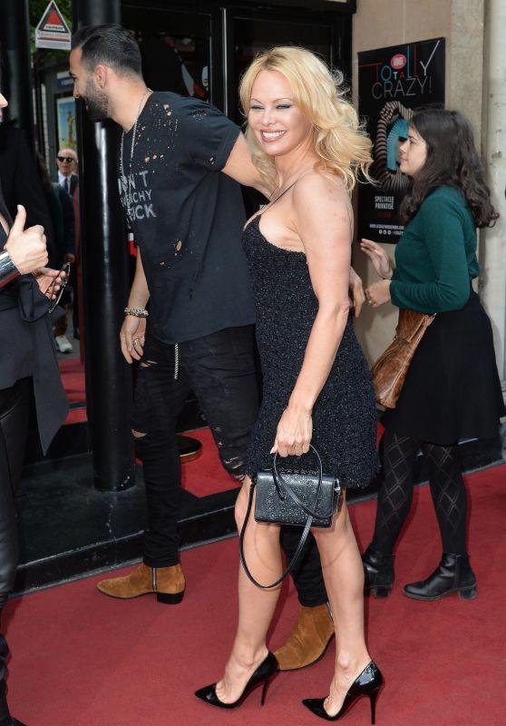 """Pamela Anderson - """"Bionic Showgirl"""" Show Premiere in Paris"""