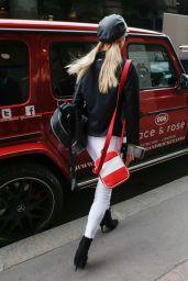 Paris Hilton - Leaving Her Hotel in Paris 06/08/2019