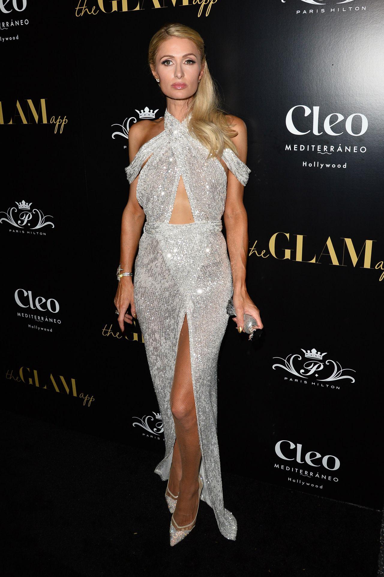 Paris Hilton The Glam App Launch Event In La 06 19 2019