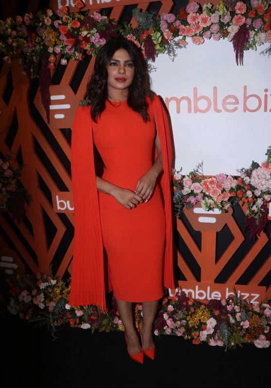 Priyanka Chopra - Bumble Bizz App New Campaign Launch in Mumbai 06/13/2019