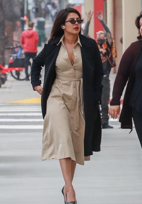 Priyanka Chopra in Casual Outfit 06/04/2019