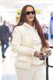 Rihanna - Arrives at JFK Airport in NYC 06/08/2019
