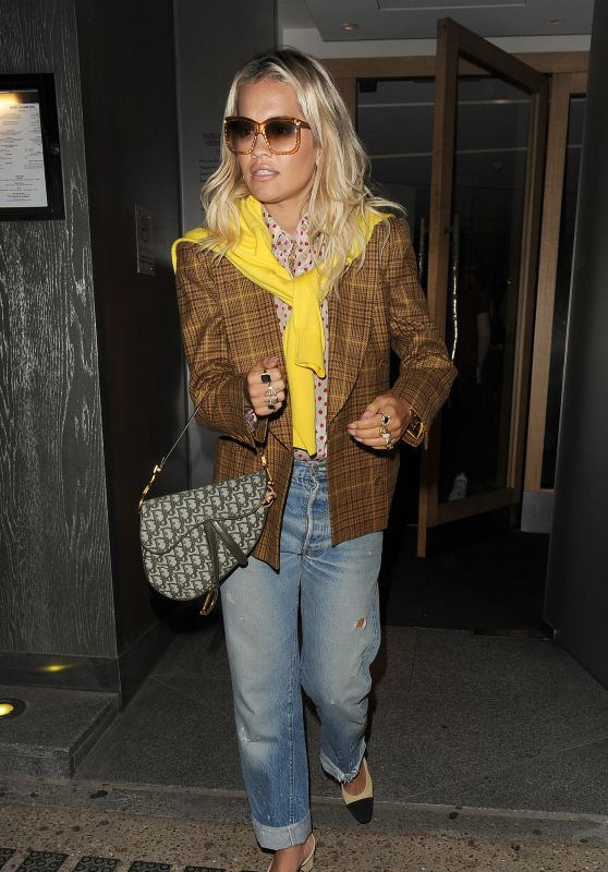Rita Ora - Leaving Music Bank Studios in London 06/27/2019