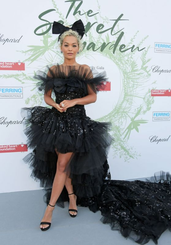 Rita Ora – The Naked Heart Foundation: The Secret Garden Charity Gala in Switzerland 06/13/2019