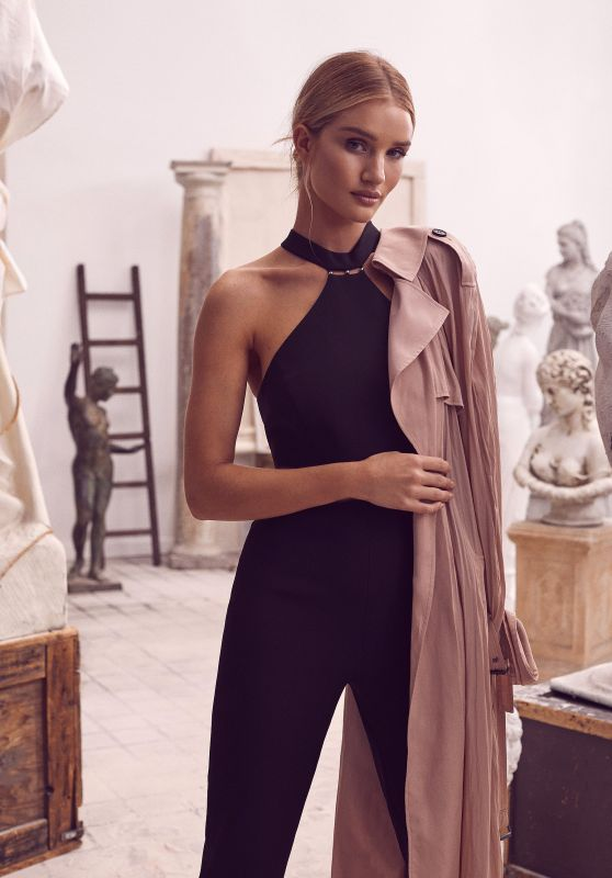 Rosie Huntington-Whiteley - BCBGMAXAZRIA Spring & Summer Campaign 2019