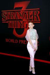 """Sadie Sink - """"Stranger Things 3"""" Premiere in Santa Monica"""