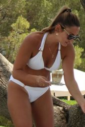 Sam Faiers in Bikini on Holiday in Majorca 06/26/2019