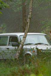 "Scarlett Johansson - ""Black Widow"" Filming at Pinewood Studios 06/05/2019"