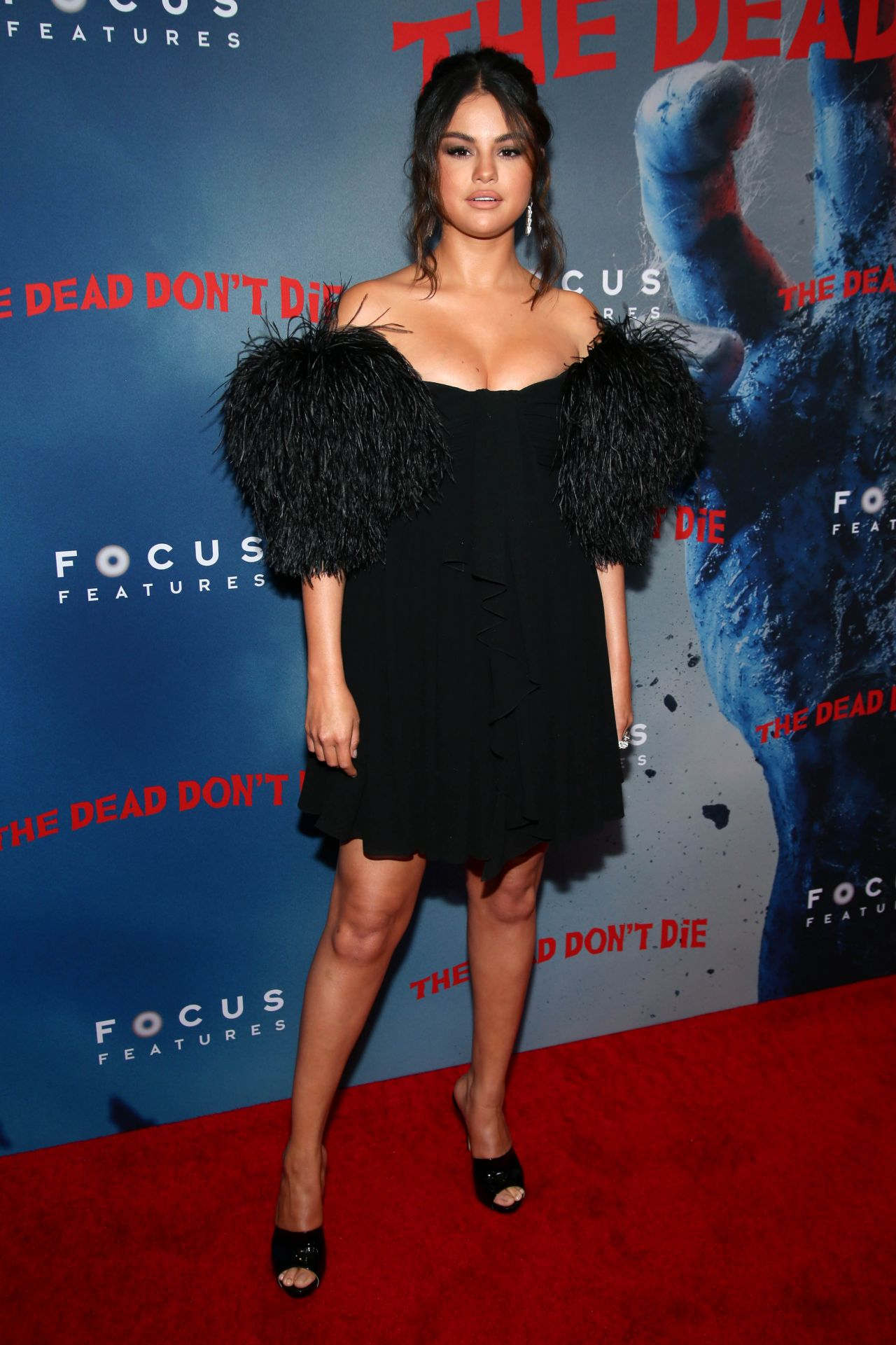 Selena Gomez Quot The Dead Don T Die Quot Premiere In Nyc
