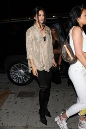 Shanina Shaik Night Out - Delilah Club in West Hollywood 06/21/2019