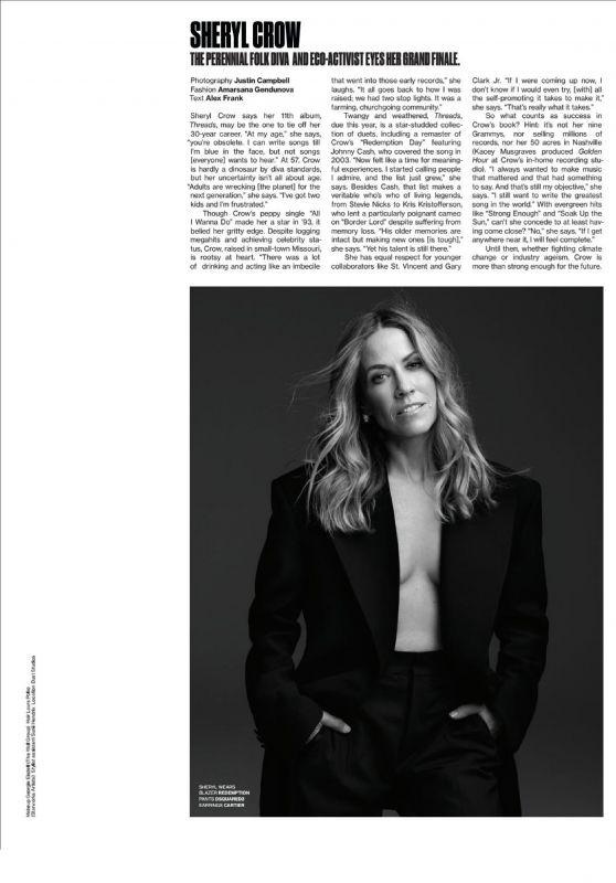 Sheryl Crow – V Magazine Summer 2019 Issue