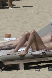 Sophia Thomalla in Bikini at the Beach on Mykonos Island 06/01/2019