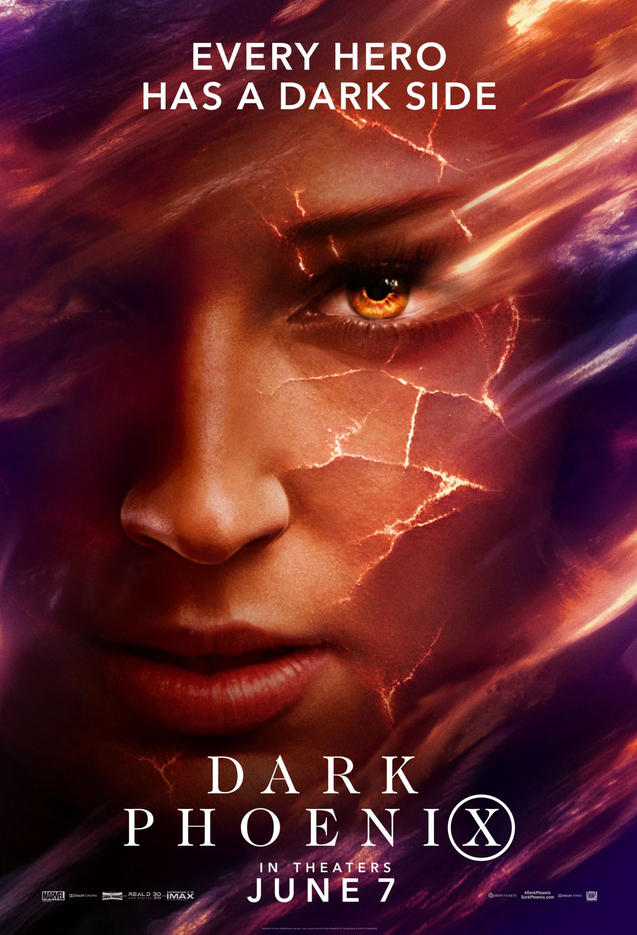 Sophie Turner Quot Dark Phoenix Quot Promotional Posters