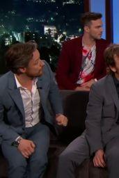 Sophie Turner, Jennifer Lawrence, Jessica Chastain - Jimmy Kimmel Live 06/05/2019