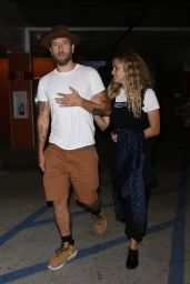 Teresa Palmer and Mark Webber Night Out - Los Angeles 06/25/2019
