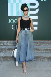 Tessa Thompson – Miu Miu Club Event in Paris 06/29/2019