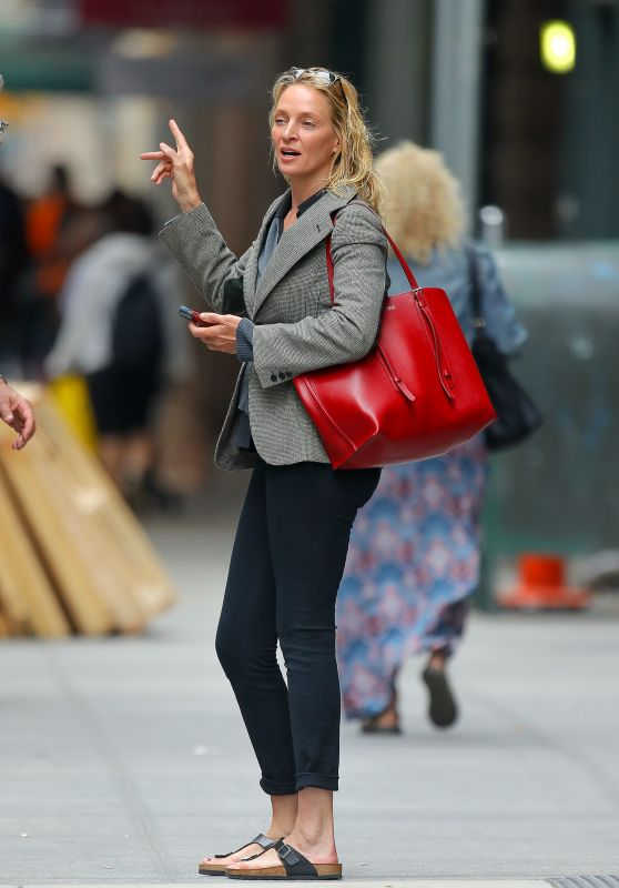 Uma Thurman - Out in New York City 06/19/2019