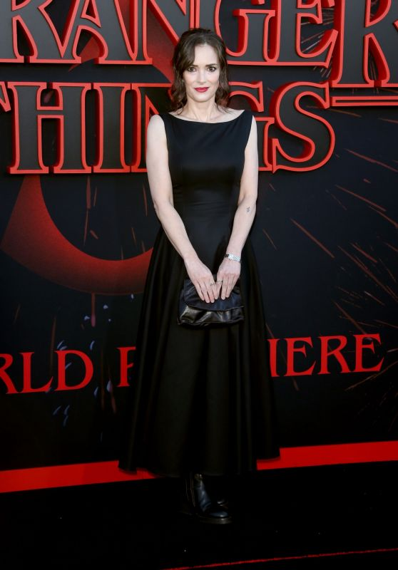 "Winona Ryder – ""Stranger Things 3"" Premiere in Santa Monica"