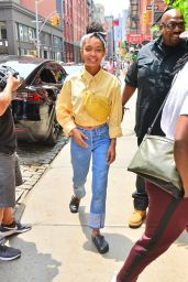 Yara Shahidi - Out in New York City 06/02/2019