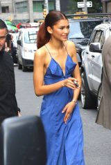 """Zendaya - Leaving """"The Late Show with Stephen Colbert"""" in NYC 06/25/2019"""