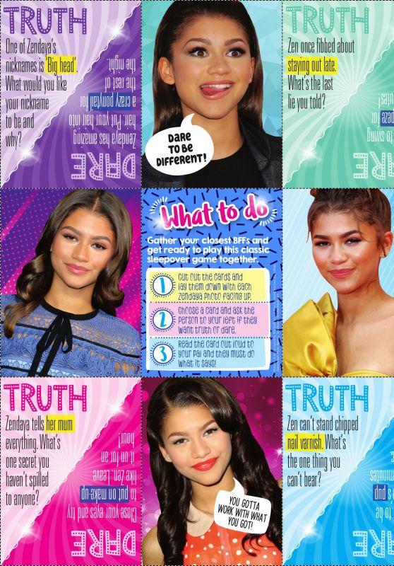 Zendaya - Go Girl Magazine Issue 286, 2019