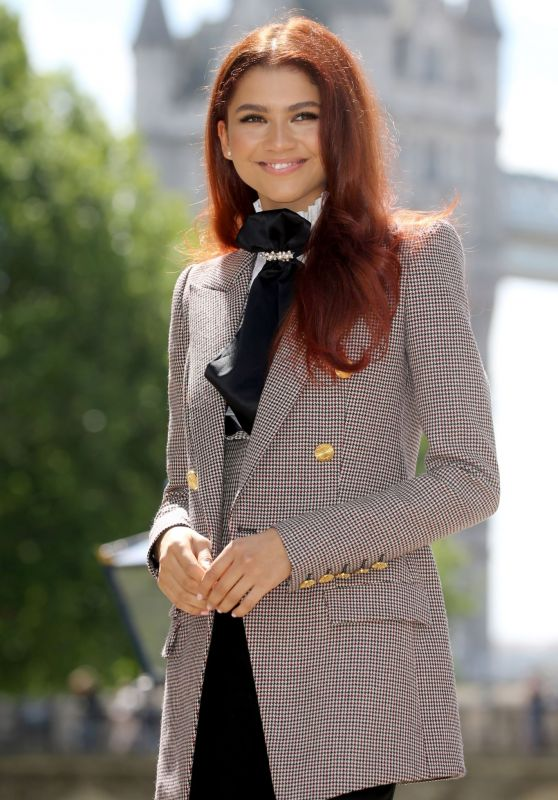 """Zendaya - """"Spider-Man: Far From Home"""" Photocall in London"""