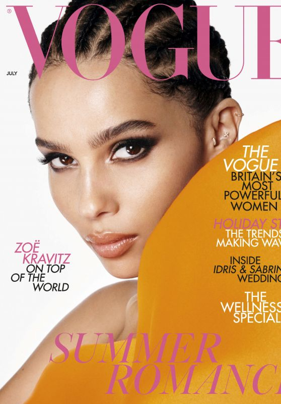 Zoe Kravitz - Vogue UK July 2019 Issue