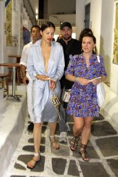 Adriana Lima - Out in Mykonos Town 07/09/2019