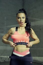 Adriana Lima - Puma Campaign July 2019