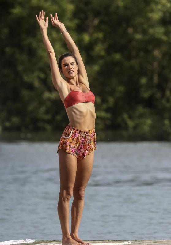 Alessandra Ambrosio in a Bikini 07/03/2019