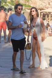 Alessandra Ambrosio in a Bikini 07/13/2019
