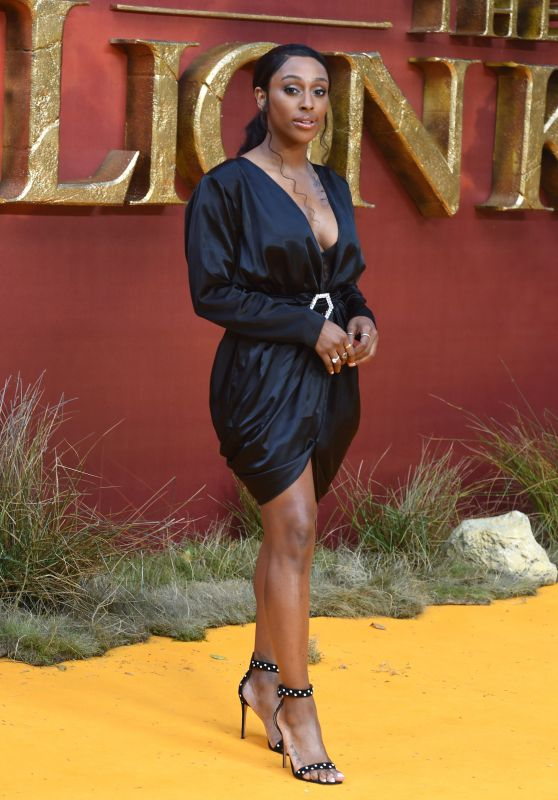 "Alexandra Burke – ""The Lion King"" European Premiere in London"