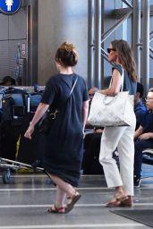Alicia Vikander - LAX Airport in Los Angeles 07/01/2019