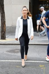 "Aly Raisman - Leaving ""The Today Show"" in NYC 07/08/2019"