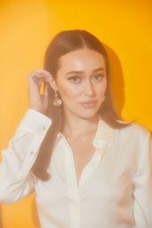 Alycia Debnam-Carey – Pizza Hut Lounge Portraits at SDCC 2019