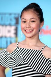 Alysa Liu – Nickelodeon Kids' Choice Sports Awards 2019 in Santa Monica