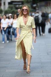 Amanda Holden - Leaving Global House in London 07/08/2019