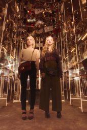 Amanda Seyfried and Emma Roberts - Fendi #BaguetteFriendsForever Campaign 2019