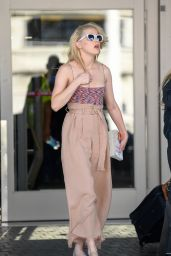 Amber Heard - LAX Airport in Los Angeles 07/05/2019