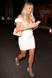 "Amber Turner - ""In The Style"" Summer Party in London 07/25/2019"
