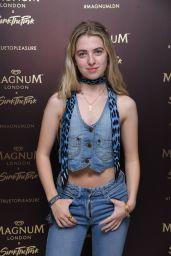 Anais Gallagher – Magnum Pleasure Store Launch in London 07/10/2019