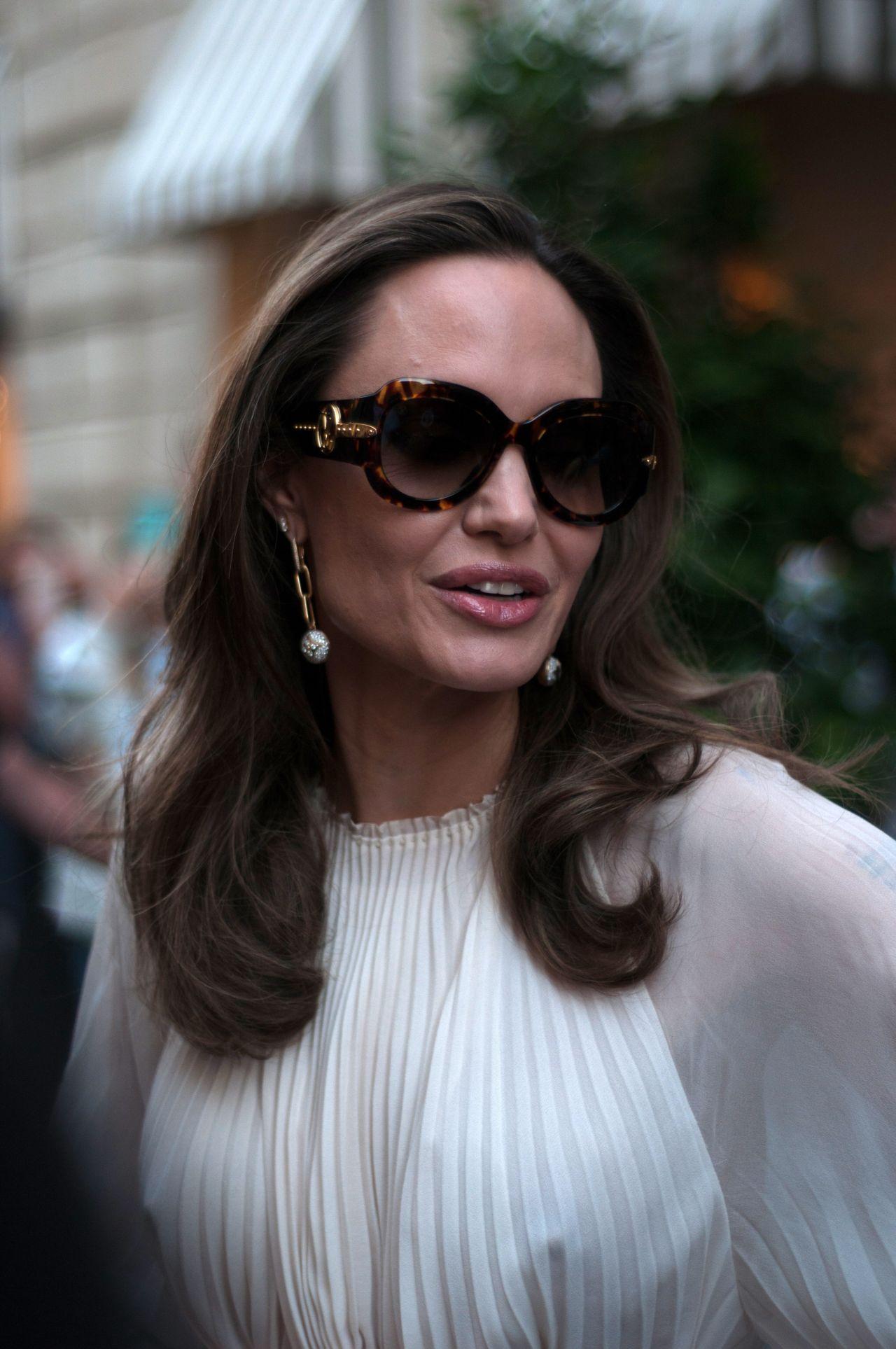 Angelina Jolie In Paris 07 08 2019