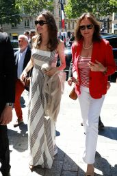 Angelina Jolie With Jacqueline Bisset on the Champs Elysees in Paris 07/09/2019